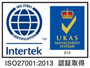 ISO27001-2013認証取得